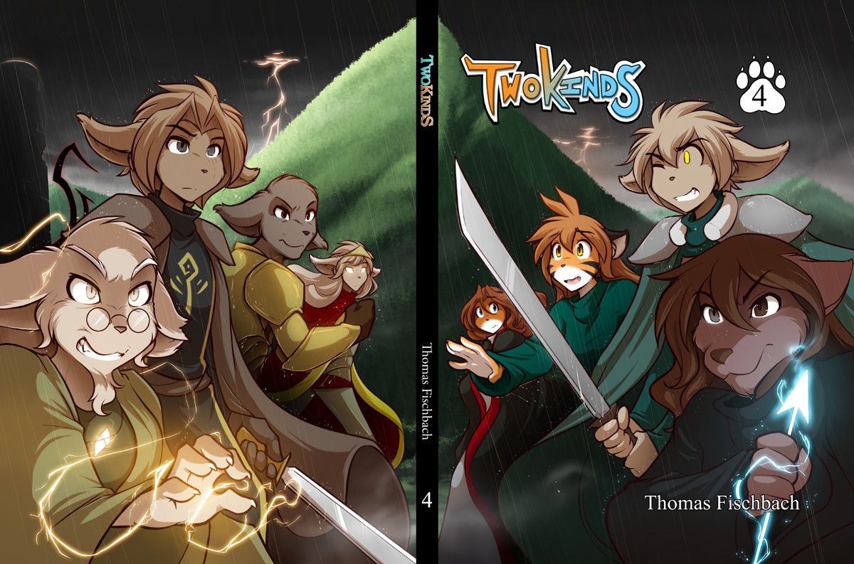 Twokinds Vol 4 Cover