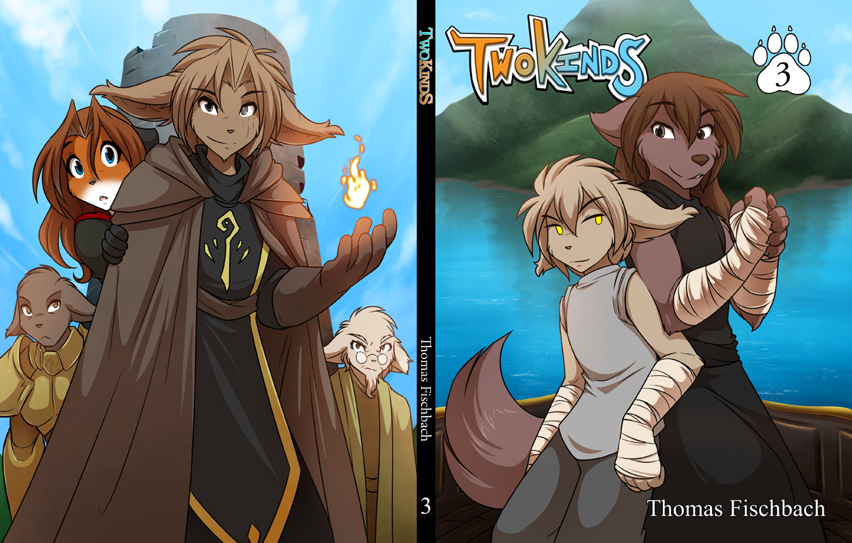 Twokinds Vol 3 Cover